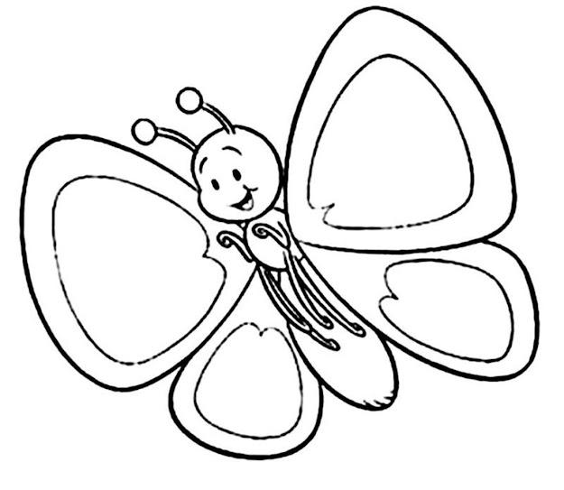Best Designs Ideas Of Simple Butterfly Coloring Pages From Butterfly  Coloring Pages Printable