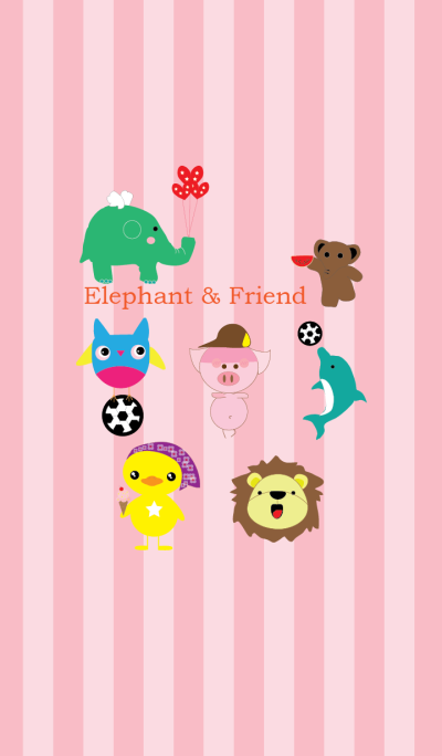 Elephant & Friend
