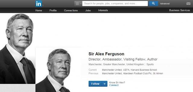 Alex Ferguson se abre cuenta en Linkedin ¿Busca empleo?
