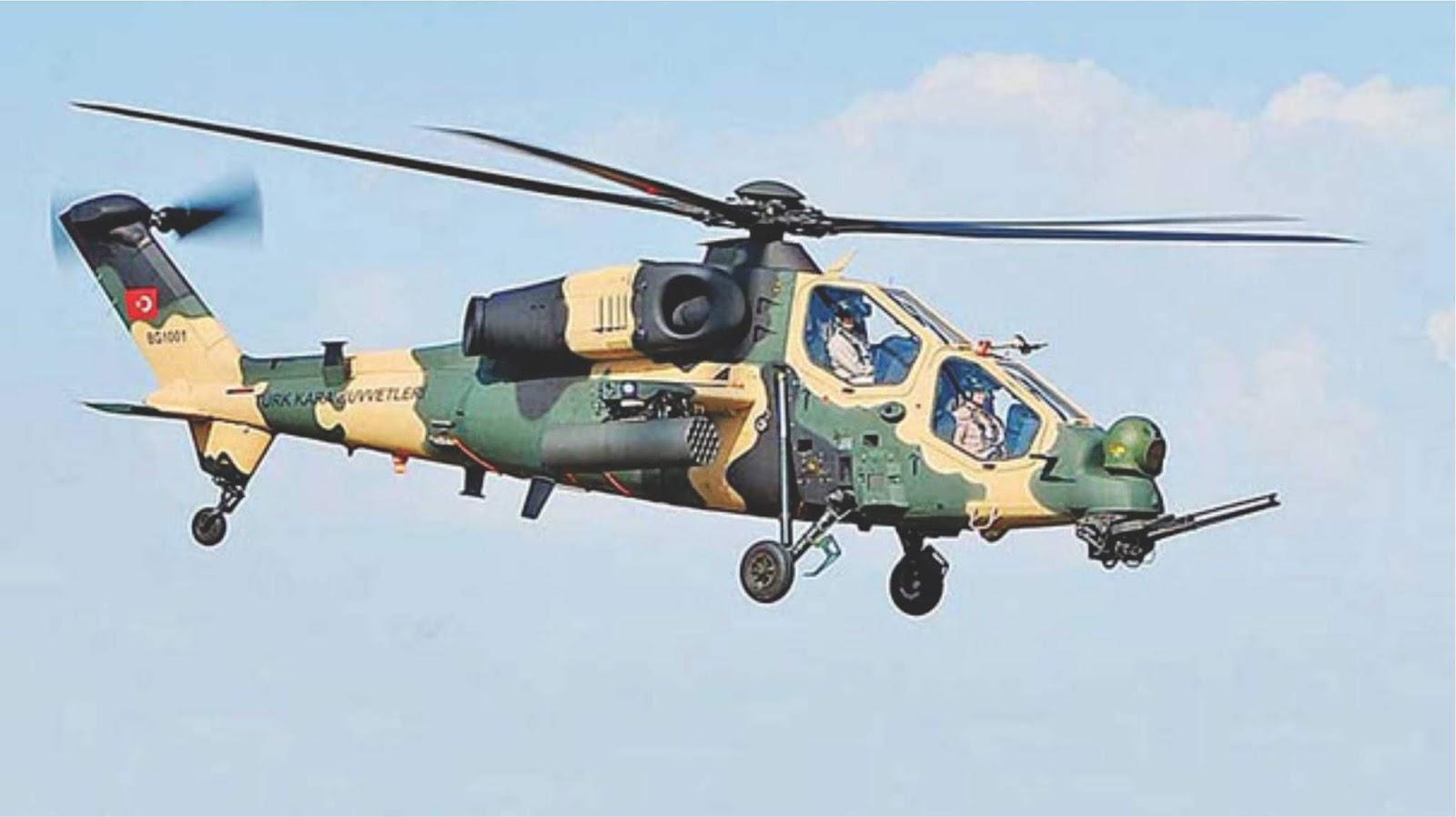 Pasokan 30 helikopter militer Turki ke Pakistan ditunda selama enam bulan