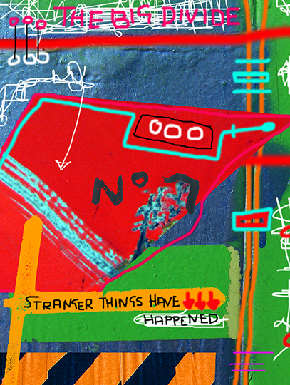 urban photography, neo expressionism, art, contemporary, digital painting, Sam Freek, abstract, modern,