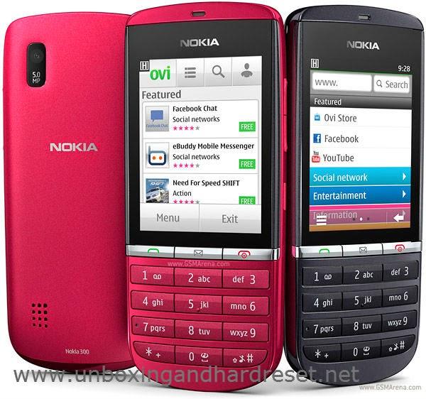 Download Nokia Asha 300 RM 781 Flash File