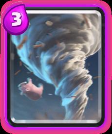 Tornado de Clash Royale