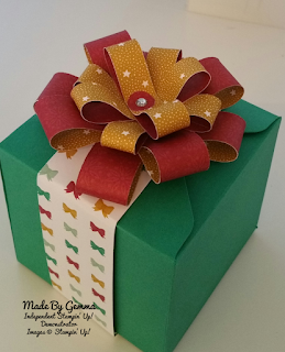 Stampin'Up! Emerald Envy Gift box