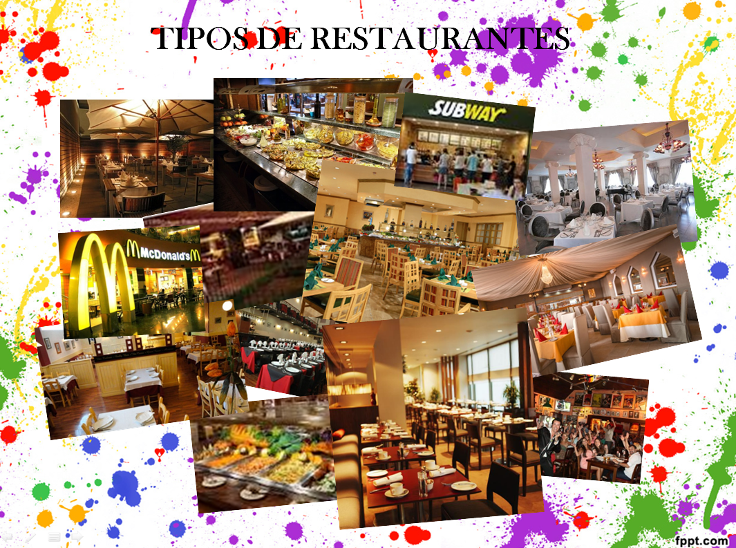 Servicios gastron micos collage de tipos de restaurante for Tipos de restaurantes franceses
