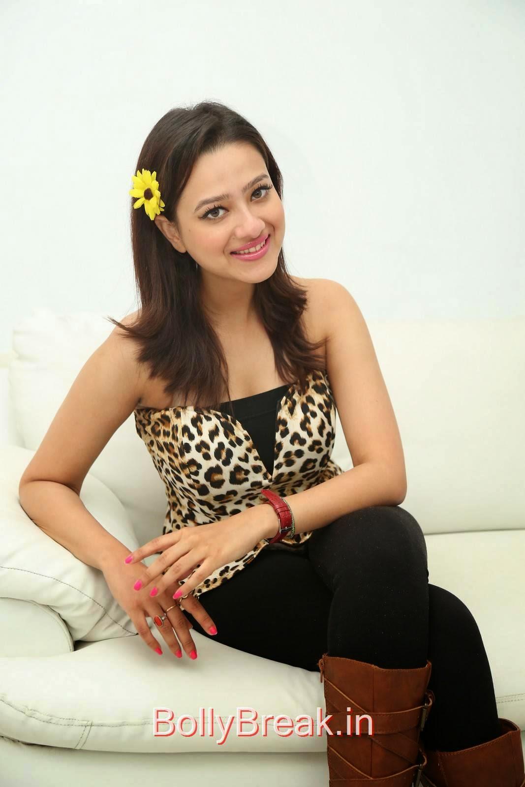 Madalasa Sarma Stills, Hot HD Images of Madalasa Sharma from Ramleela Movie Interview