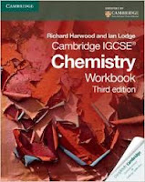 Cambridge IGCSE Chemistry Workbook (3rd edition) by Richard Harwood and Ian Lodge