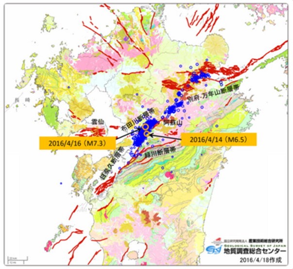Facts And Thoughts Dealing With The Kumamoto Earthquake Sequence - Japan map facts