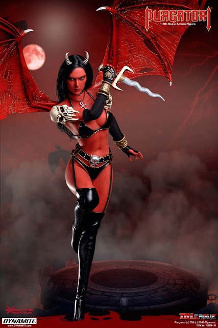 TBLeague (formerly Phicen Ltd) 1/6th Scale Purgatori 12-inch Female Action Figure