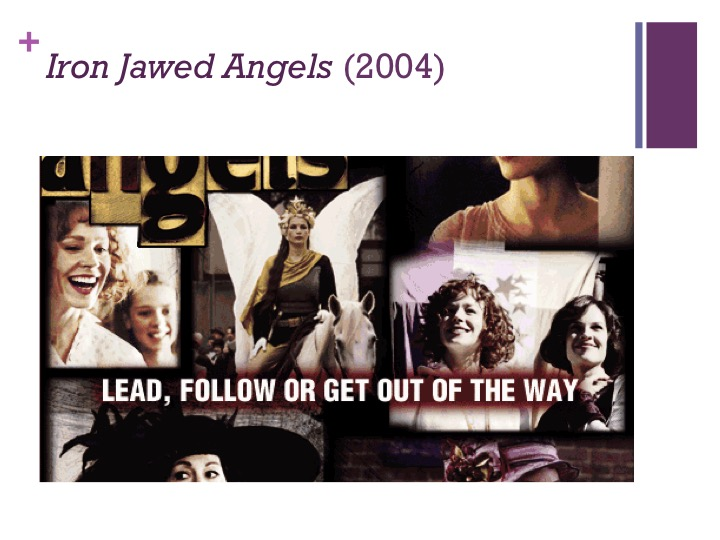 sociological theory iron jawed angels Watch iron jawed angels online free with english subtitle the movie follows women's suffrage leaders alice paul and lucy burns who risk their lives.