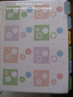 organise cricut cartridge handbooks