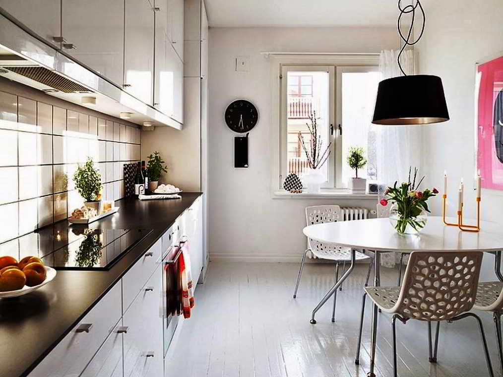 Ruang Makan Dan Dapur Sederhana Jadi Satu