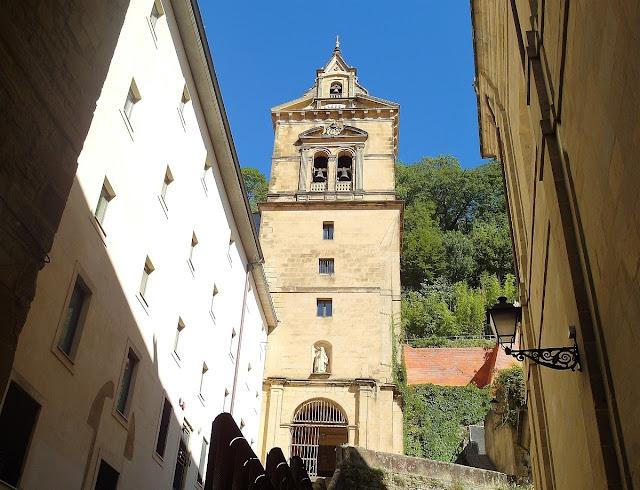 gamla stan i San Sebastian