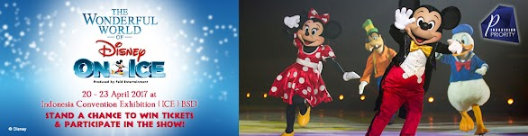 Tiket Gratis The Wonderful World Of Disney On Ice