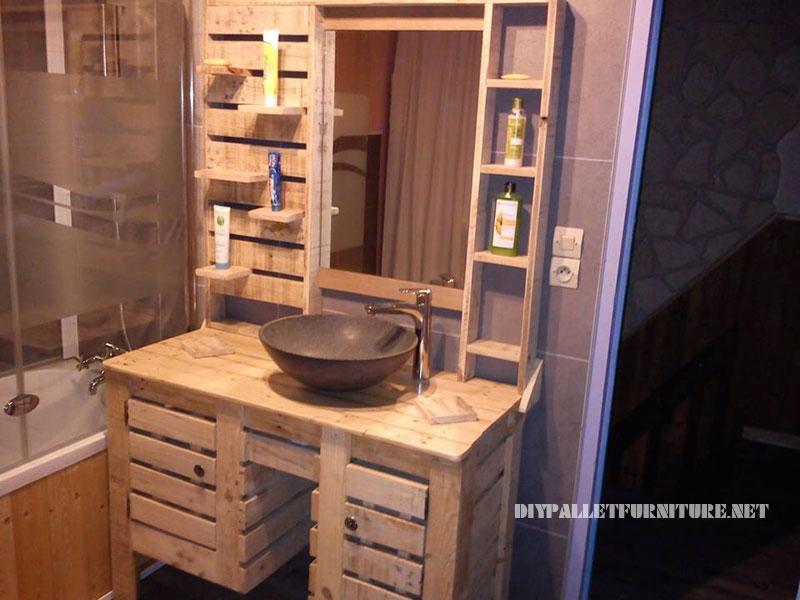 Muebles Para Baño S A De C V Gersa:Mueblesdepaletsnet: Mueble de baño con palets