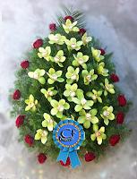 Coroana funerara Orhidee