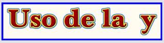 http://www.reglasdeortografia.com/y08repaso01.html