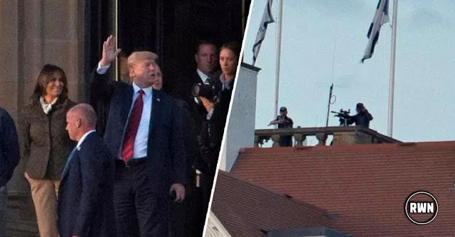 Attack On Trump Dropped In From Sky In Scotland, Stopped By Snipers Feet From His Head [VIDEO]