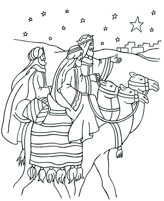 christmas bible alphabet coloring pages - photo #32