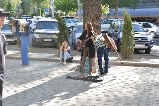 Almati Arbat sokağı