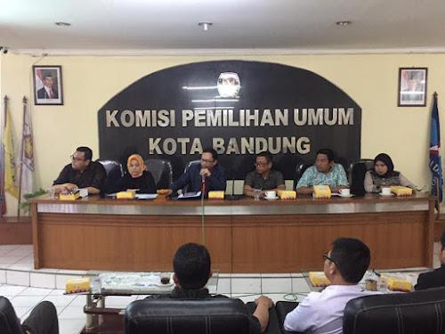 Rapat Pleno KPU Kota Bandung