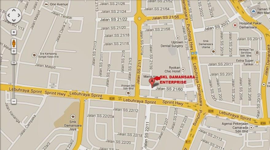 Skl Diy Uptown Location Map
