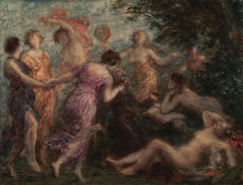 The Nymphs | Henri Fantin-Latour 1836-1904 | French Symbolist painter