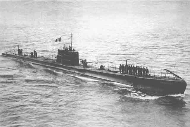 Italian submarine Smeraldo 16 September 1941 worldwartwo.filminspector.com