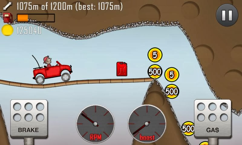 تحميل لعبة hill climb racing
