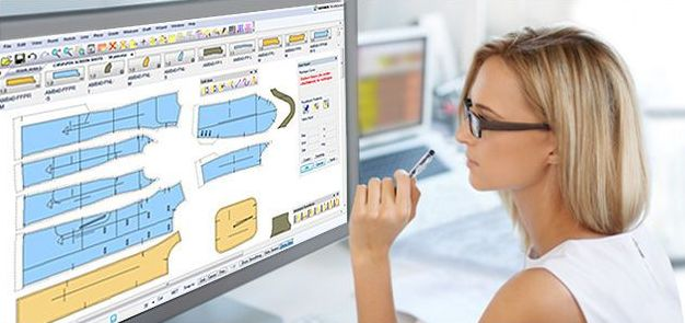 CAD is used in marker making