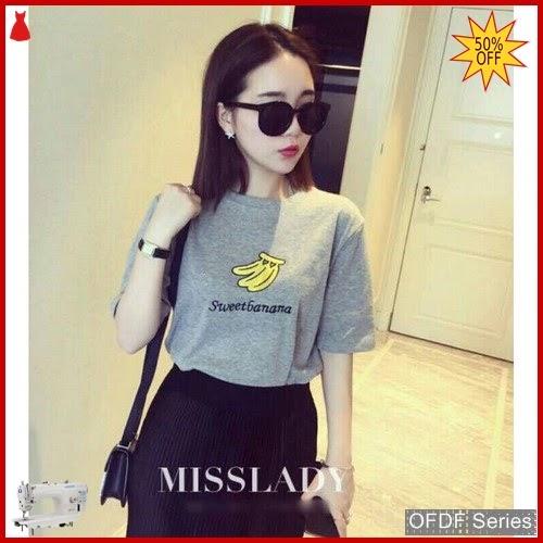OFDF083 Atasan Kaos Sweet Banana Tee 260 BMGShop