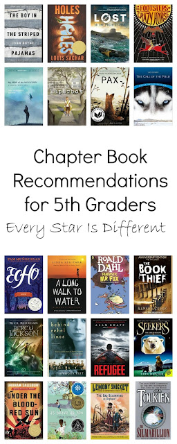 Chapter Book Recommendations for 5th Graders