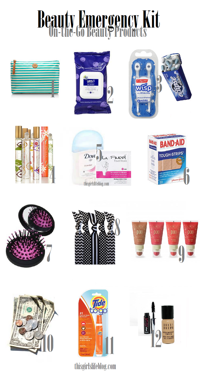 Juripunek Beauty Emergency Kit On The Go Beauty Products