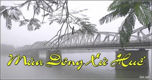 1001 bài thơ mùa Đông xứ Huế, thơ tình Huế khi Đông về