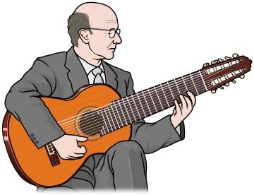 クラシック10弦ギター (10-string guitar)