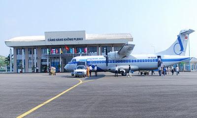 """CHÙM THƠ """"GỞI TÌNH CHO CHÚA""""- Sân bay Pleiku"""