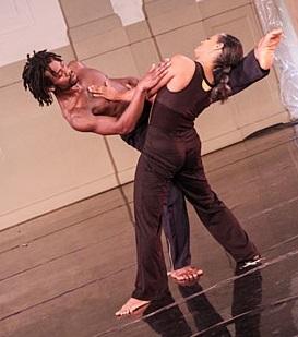 Vitolio Jeune et Natalie Rogers-Cropper, Garth Fagan Dance
