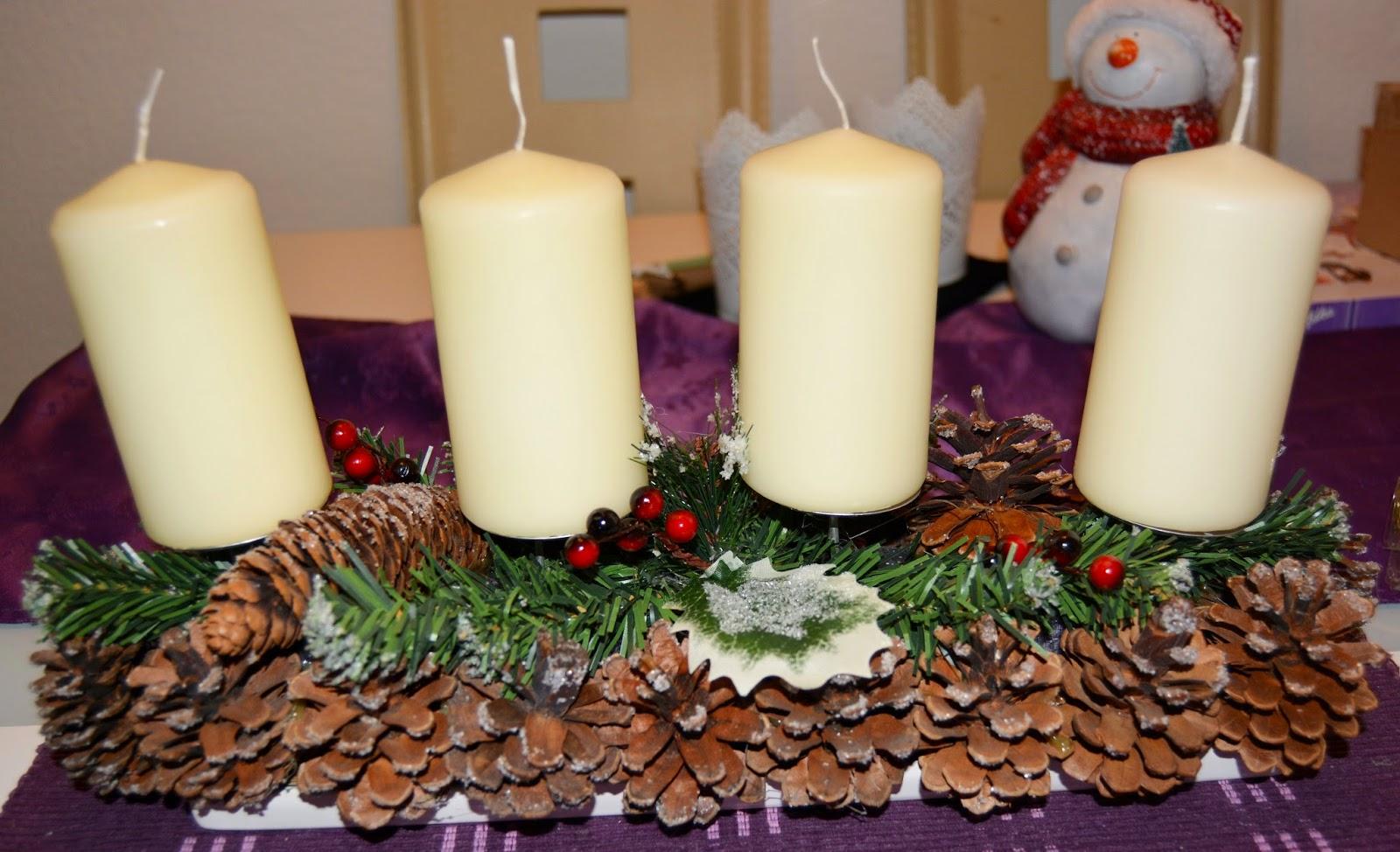 Weihnachtsdeko Nkd.Stiny Style Stiny Style Adventskalender 02 12 Adventskranz