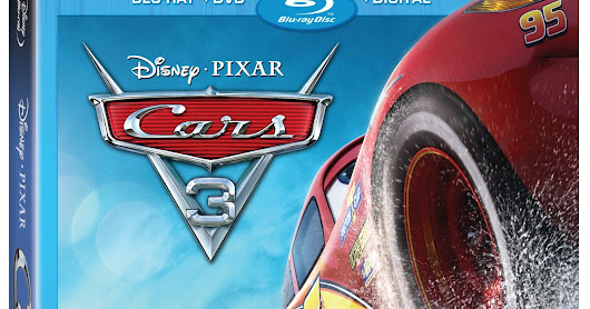 Disney Pixar Cars 3 on Blu-Ray/DVD & Giveaway!