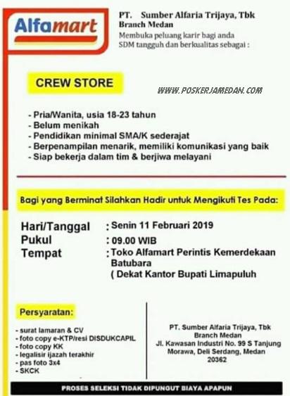 Info Loker Medan Hari Ini : loker, medan, Informasi, Loker, Medan, Terbaru, Sumber, Alfaria, Trijaya, (Alfamart), POSKERJAMEDAN.COM