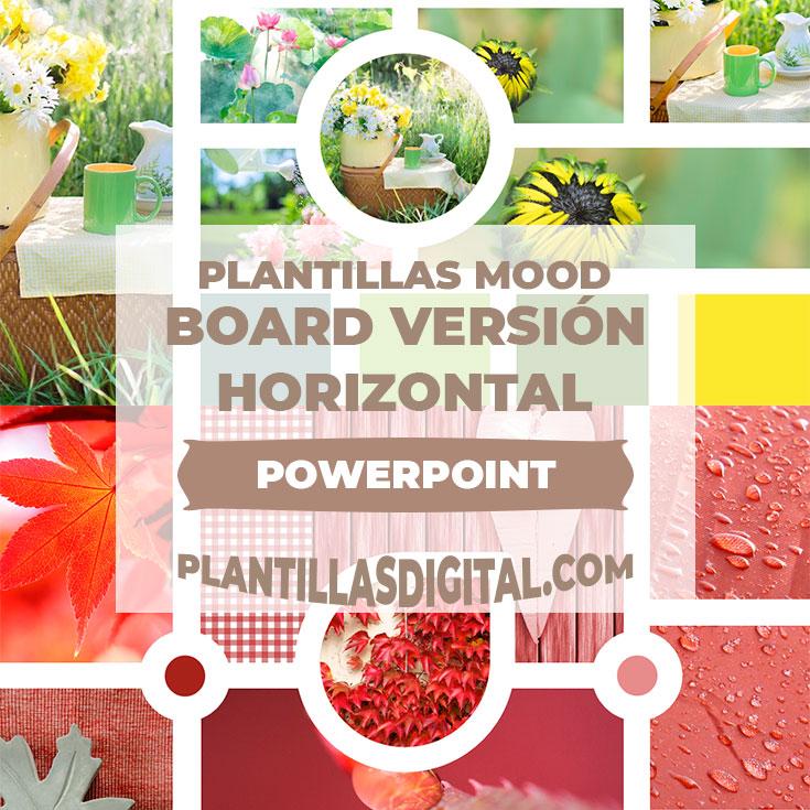 plantillas mood board version horizontal post