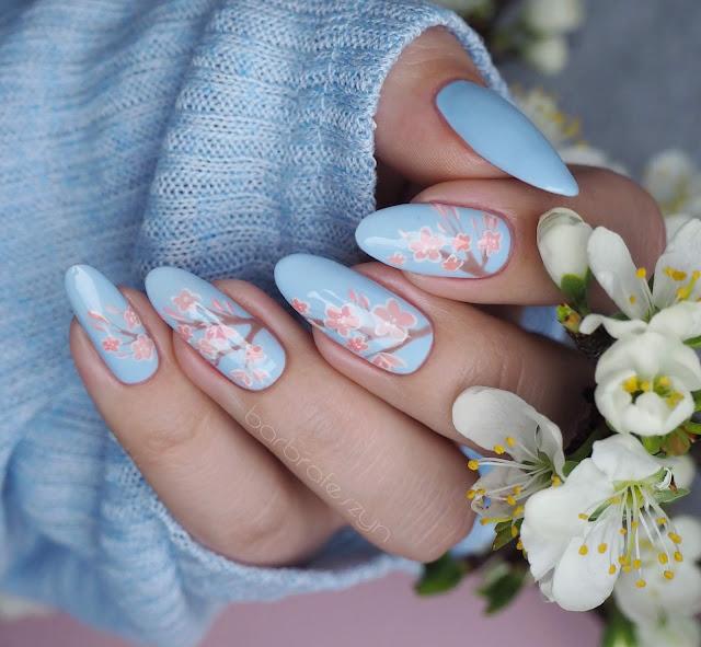wiosenne zdobienie paznokci