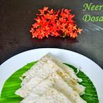 Neer Dosa Recipe | Chef Venkatesh Bhat Recipes - Recipe #3