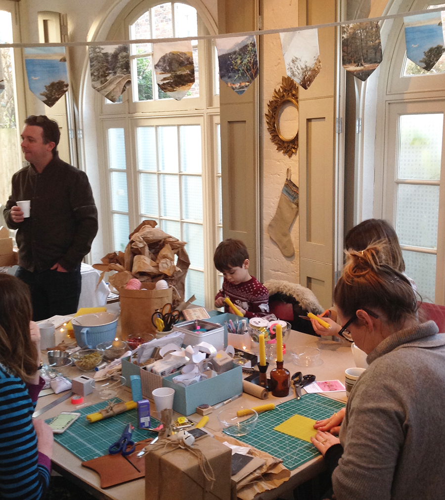 workshops in london, gifts making,