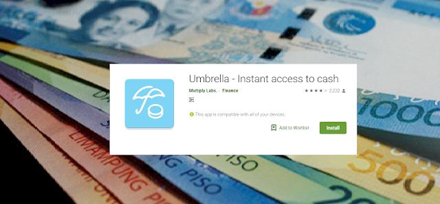 Umbrella -Paano Mag-Aplly Ng Loan?