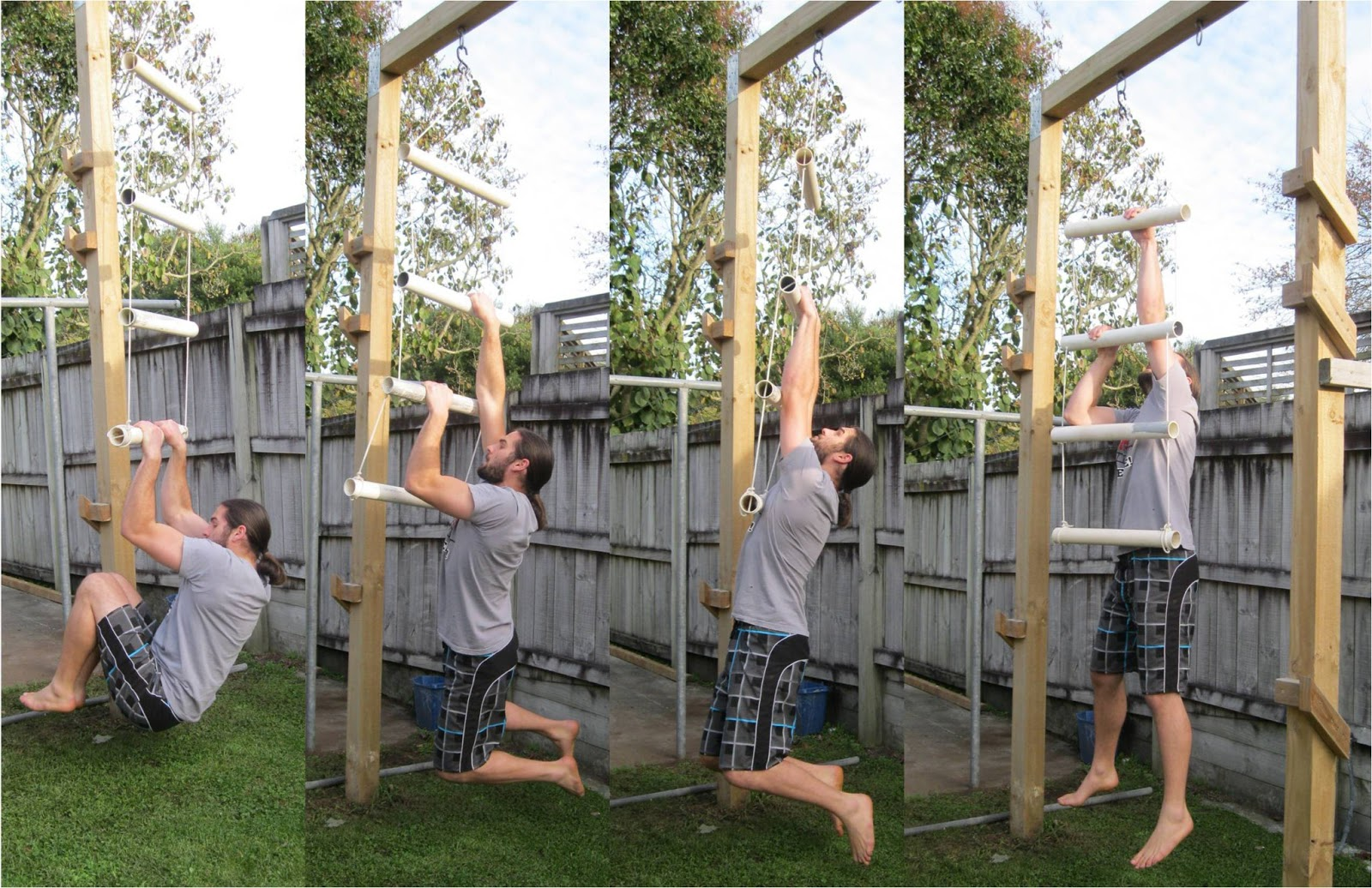 Back To Primal Homemade Rope Ladder