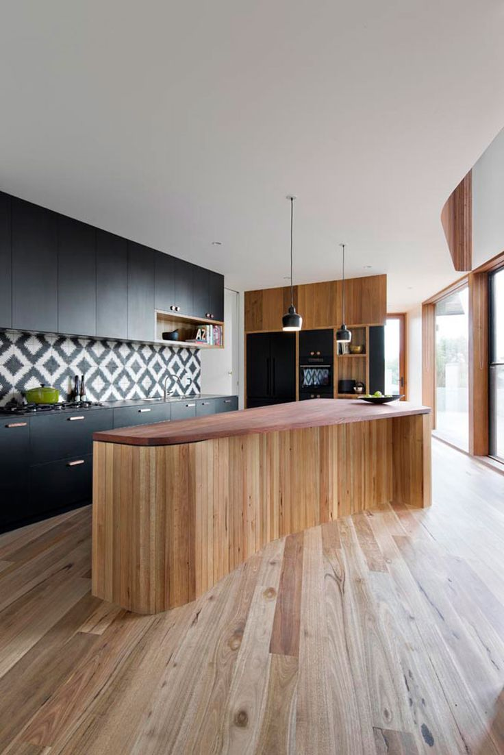 The Well-Appointed Catwalk: 16 Unique Kitchen Island Designs