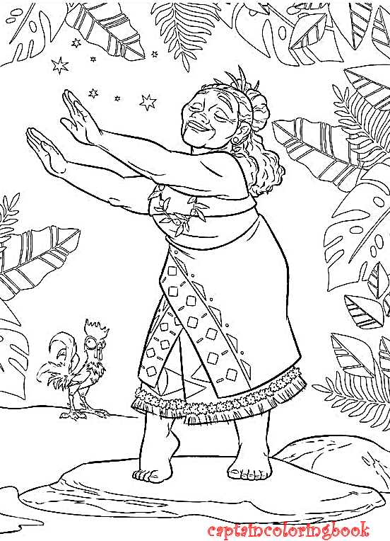 Free Printable Coloring Pages No Downloading Disney Moana Ebook Download Page