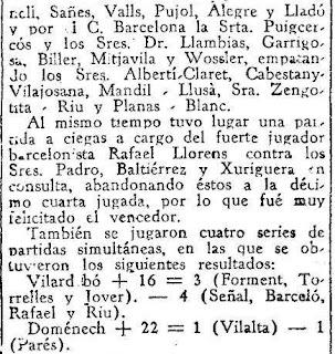 Festival ajedrecista en Manresa en 1933 (4)