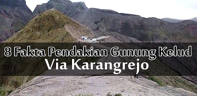 jalur pendakian gunung kelud via karangrejo